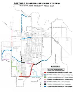 Shared Use Path System Map