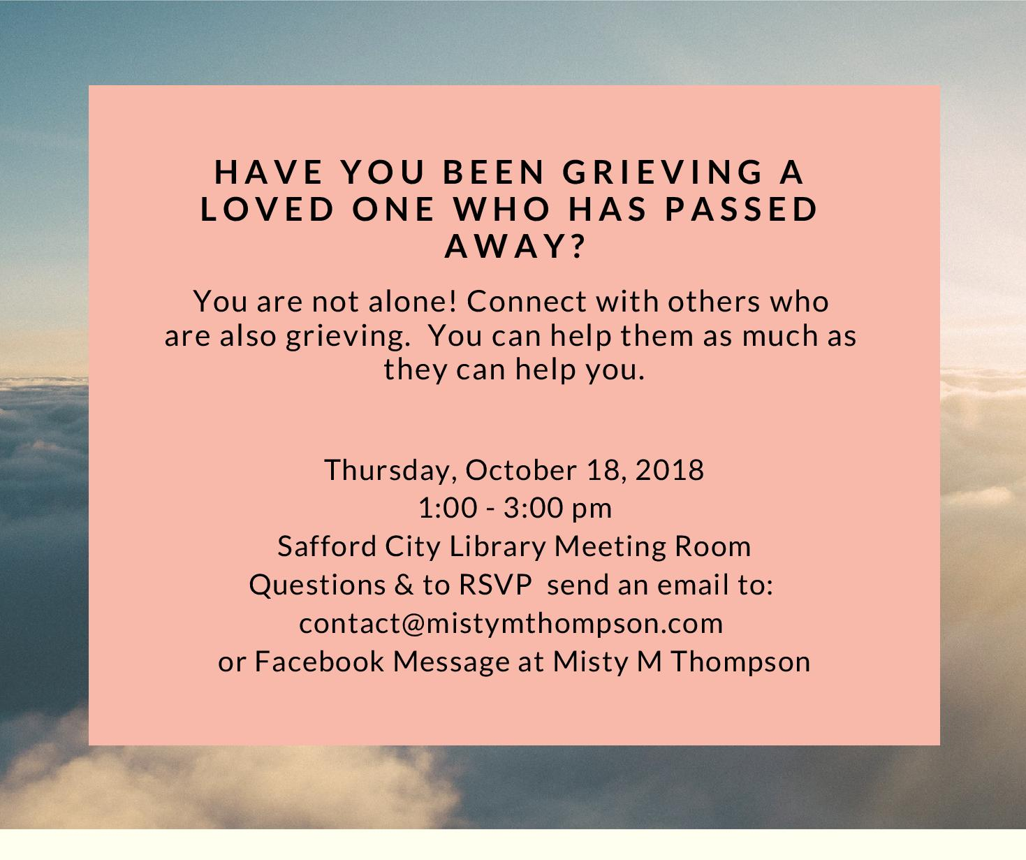 Flyer for Grief Support Group-page-001
