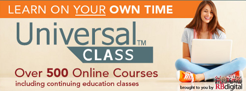 Login here to access your UniversalClass online courses through Donald W. Reynolds Community Center and Library.